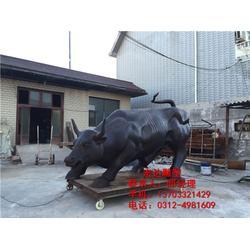 铜牛摆件,铜牛雕塑加工,铜牛摆件图片