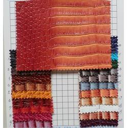 鳄鱼纹皮革|莱福特皮革|鳄鱼纹皮革供应商图片