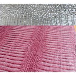鳄鱼纹皮革箱包公司|莱福特皮革(在线咨询)|鳄鱼纹皮革图片