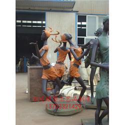小品雕塑 来图定做加工(在线咨询) 铸造铜小品雕塑图片