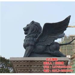 铜狮子雕塑-铸造加工-铜狮子雕塑造型图片