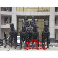 铜马雕塑、铜马雕塑摆件、小区铜马雕塑摆件图片