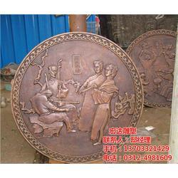 地面铜浮雕厂家(图)|哪里铜地雕专业|铜地雕图片