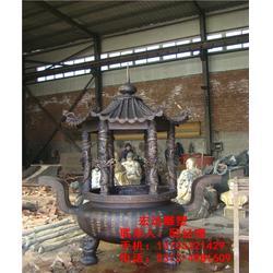 铸铜香炉,宏达雕塑(在线咨询),寺庙铸铜香炉去哪买图片