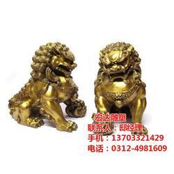 铜狮子 定做铜狮子多少钱 铜狮子铸造(多图)