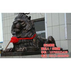 铜狮子|定制大型铜狮子|铜狮子(多图)图片
