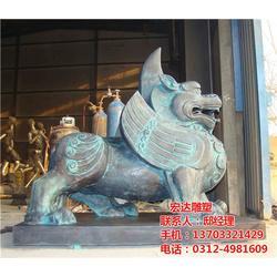 定制公园小区动物雕塑_动物雕塑_宏达雕塑图片
