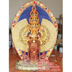 铜佛像生产厂家,观音铜像,千手观音铜像图片