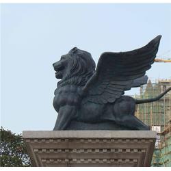 宏达雕塑|铜狮子雕塑|风水铜狮子雕塑图片