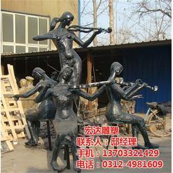 承接园林铸铁雕塑、铸铁雕塑、铁雕塑加工厂家图片