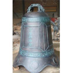宁夏铜钟厂家,宏达雕塑铸造厂,定制大中小铜钟厂家图片