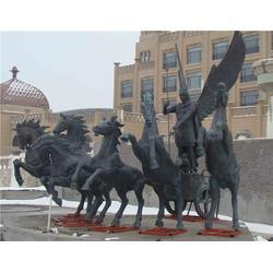 铜雕马-铜马雕塑厂家-铜雕马定做图片