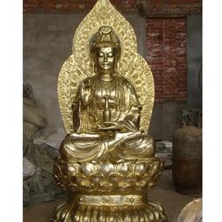 观音铜像、定做观音铜佛像、观音铜像造型图片