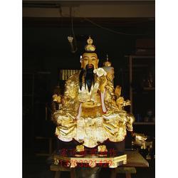 财神爷道教神像生产,道教神像,宏达雕塑供应厂家(在线咨询)图片