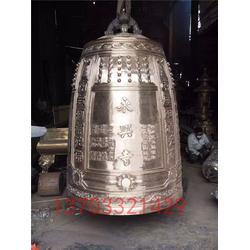 寺庙铜钟-铜钟加工厂家-刻经文寺庙铜钟图片