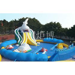 连云港移动水上乐园、一流厂家 安全耐用、广州炬博图片