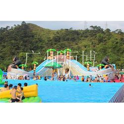 珠海充气水上乐园,广州炬博,充气水上乐园图片