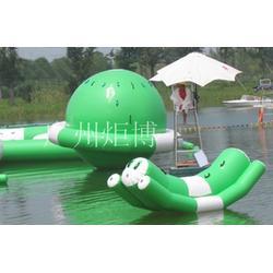 江苏水上充气乐园-广州炬博-户外充气乐园厂家定做图片
