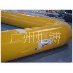 水上充气泳池、石家庄充气泳池、广州炬博(多图)图片