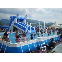河南充气泳池、广州炬博(优质商家)、充气泳池哪里有得买图片