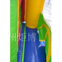 广州炬博-唐山充气蹦床-大型充气蹦床图片