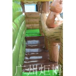 金华充气跳跳床-广州炬博-动漫人物充气跳跳床图片