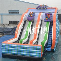 广州炬博|鹤山充气滑梯|熊出没充气滑梯图片