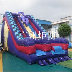 可定制熊出没滑梯、鞍山充气滑梯、广州炬博(图)图片