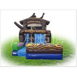 充气滑梯-广州炬博 儿童充气滑梯生产图片