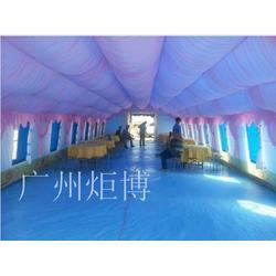广州炬博,淄博充气帐篷,野外单人充气帐篷图片