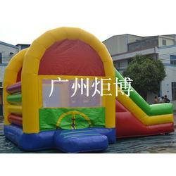 广州炬博、秦皇岛充气滑梯、儿童游乐充气滑梯定做图片