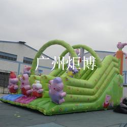 充气滑梯新款|威海充气滑梯|广州炬博(多图)图片