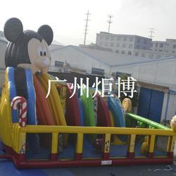 河南充气城堡-广州炬博(在线咨询)熊出没充气城堡图片