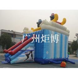 大型充气滑梯、安阳充气滑梯、广州炬博图片