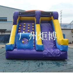 熊出没充气滑梯、昆明充气滑梯、广州炬博图片