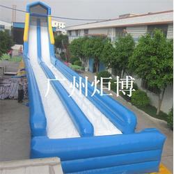 充气大滑梯,雷州充气滑梯,广州炬博图片