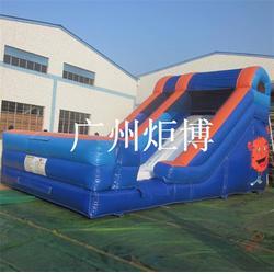 深圳充气滑梯-广州炬博-大型充气滑梯租赁图片