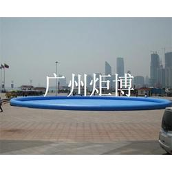 充气游泳池多少钱|太原充气游泳池|广州炬博图片