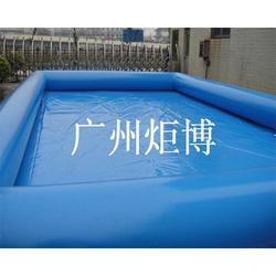 珠海充气游泳池,加厚充气游泳池,广州炬博(多图)图片