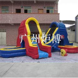 福州充气滑梯_广州炬博(在线咨询)_充气滑梯哪里好图片