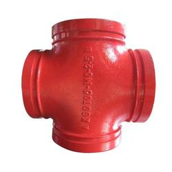 沟槽管件哪家好、潍坊德通机械、延安沟槽管件图片