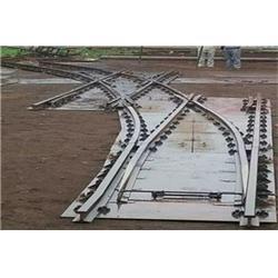 飞跃铁路道岔 窄轨渡线道岔生产厂家-内蒙窄轨渡线道岔图片
