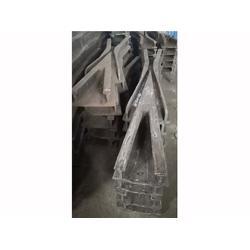 新疆铸钢道岔岔芯-飞跃铁路道岔-铸钢道岔岔芯图片