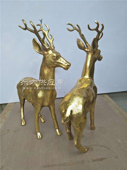 定制纯铜鹿厂|纯铜鹿|立保铜雕厂生产铜雕鹿(查看)图片