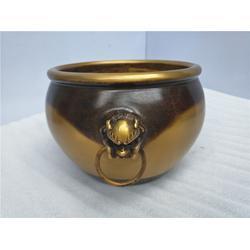 铜缸小号|铸铜缸-唐县铜雕厂家(在线咨询)|铜缸小号生产厂家图片