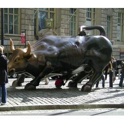 厂家铸造铜牛大好、铜牛大号、铜牛-恒保发铜雕厂(图)图片