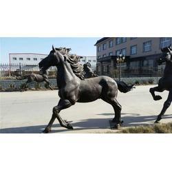 广东铸铜动物雕塑,河北恒保发铜雕厂,铸铜动物雕塑铜马图片