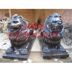 铜雕狮子厂(图)、仿古青铜狮子、青铜狮子图片