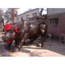 铜雕牛、铜牛生产厂家、华尔街铜雕牛图片