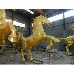 小铜马|铜雕厂家恒保发商贸(在线咨询)|办公桌小铜马图片